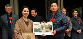 """高清图:""""丹青映和""""肖映梅中国画作品展在扬州八怪纪念馆举行"""