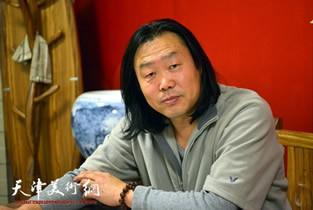 著名画家刘学峰做客天津美术网访谈实录