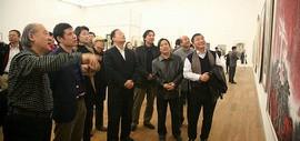 """放歌新时代-""""到人民中去""""天津市写生美术作品展在天津美术馆开幕"""