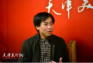 著名画家肖培金做客天津美术网访谈实录
