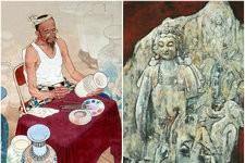 天津名家中国画邀请展作品欣赏-人物篇