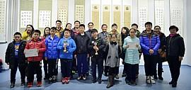 第六届全国少儿书法大赛天津赛区师生书画作品展在津举行