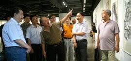 """高清图:""""到人民中去""""京津冀百名艺术家创作展巡展至天津"""