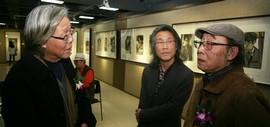 高清图:水墨缘·张培础、季平师生画展在天津人民美术出版社美术馆开幕