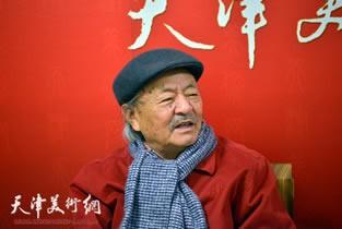 视频:著名画家吴燃做客天津美术网