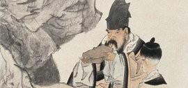 著名书画家李毅峰:任伯年的代表作《东坡玩砚图》
