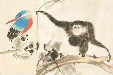 组图:张其翼绘制的鸟兽八开册页欣赏
