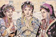 藏域风情:品读陈恺的人物画艺术
