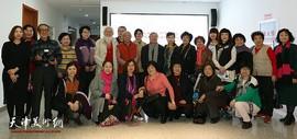 展新时代女性风采 2019天津市各界妇女书画摄影作品展在河西文化中心开幕