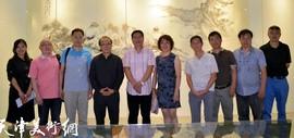 高清图:墨韵禅心·张佩钢佛像展在东莞长安饶宗颐美术馆开幕