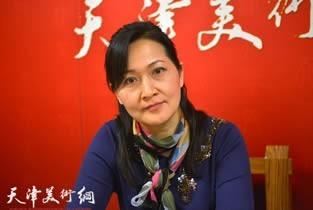 视频:著名画家张静做客天津美术网