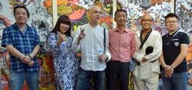 高清图:镜中世界 胡安·布尔伐斯艺术展在梅江国际艺术馆开幕