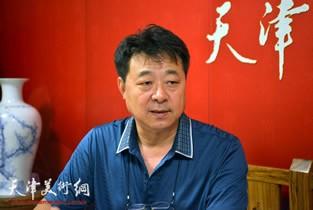 视频:著名画家左锡云做客天津美术网