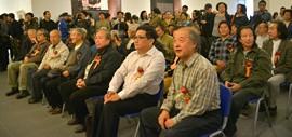 高清图:中国著名水彩画家王双成水彩艺术回顾展在天津美术馆开幕