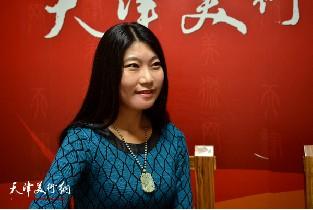 青年画家任凤茗做客天津美术网访谈实录