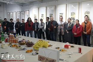 视频:王深、韦韬全国巡回展北京宋庄站开展