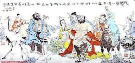 高清图:南开大学东方艺术系主任赵均中国人物画作品欣赏