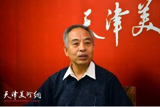 视频:著名画家马凤柏做客天津美术网