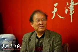 视频:著名画家何延喆做客天津美术网