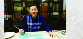 著名画家王心刚2018戊戌年台历欣赏