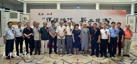 """庆""""七·一""""中国书画精品展在庆王府开幕 12位书画家力作展出"""