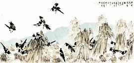 独立的自我,生命的私语——评论家徐希嵋观孟庆占画展有感