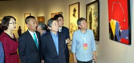 高清图:世纪归鸿—天津美院办学110周年教师作品展在中国美术馆开幕