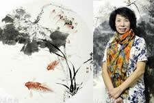 境由心造-天津女画家吕爱茹花鸟画作品欣赏