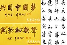组图:天津体育之光书画院作品欣赏