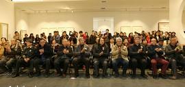 文新秀古——天津美术学院贾广健硕士研究生师生作品展在石家庄麓美术馆开幕
