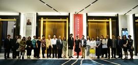 """""""2018·春—当代艺术淋子、秀夫作品沙龙""""在天津泛太平洋大酒店举办"""