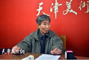 著名画家姬振岭做客天津美术网访谈实录