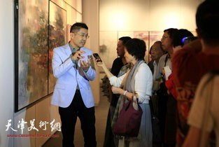 视频:心灵的交换—程亚杰意象油画展
