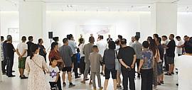 一卷山—王爱君作品展、灵秀雅逸—商毅水墨作品展在烟台美术博物馆开展