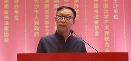 中国书协副主席张建会从十二届国展谈当代隶书现状与发展