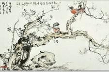 """尹沧海教授作品梅、兰、竹、菊欣赏 """"古法""""传承 自出机杼"""