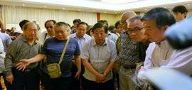 高清图:刘大为、吴长江等中国美协领导来津观摩指导