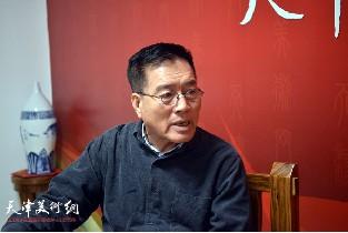 视频:著名画家刘正恽做客天津美术网