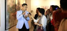 高清图:心灵的交换—程亚杰意象油画展开幕 开启国际艺术巡展之旅
