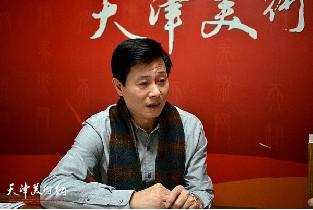 著名画家魏玖来做客天津美术网访谈实录