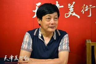 视频:著名画家孟宪义做客天津美术网