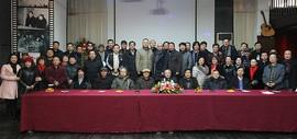 古燕新曲-魏瑞江、柴博森、阚传好迎贺新春中国画作品展在五车间开幕