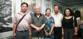 高清图:铭史鉴今·圆梦中华 河东区举行纪念抗战胜利70周年书画作品展