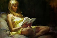 旅美华裔画家Fongwei.liu油画作品赏析