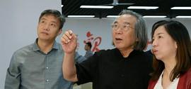 忆江南-王若老师作品展在滨海新区开展 霍春阳到场为爱徒助阵