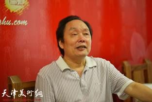 著名画家向中林做客天津美术网访谈实录