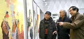 高清图:纪念刘奎龄诞辰130周年2018最新博彩白菜大全提名展在天津图书馆开展