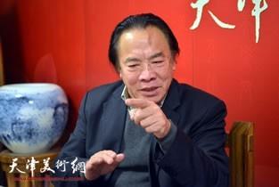 视频:著名画家吴泽浩做客天津美术网