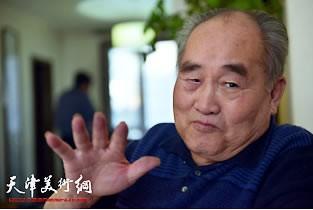 著名书法艺术家孙伯翔:魏碑就是威武的将军