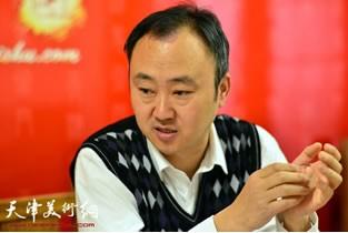 著名画家柴博森先生做客天津美术网访谈实录